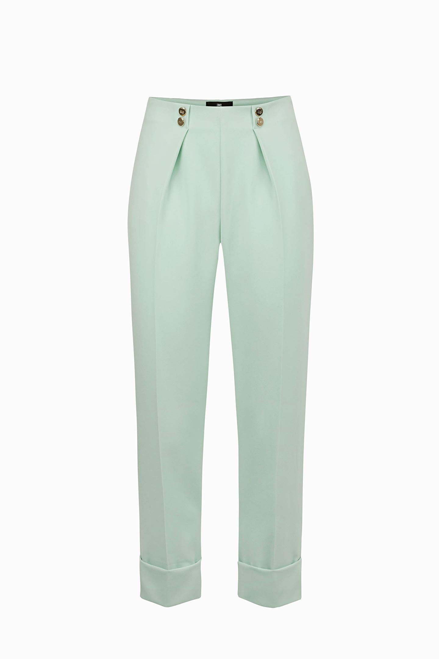 f22bbab2b6 Pantaloni : Pantaloni con pince Elisabetta Franchi